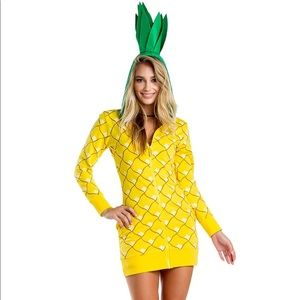 Tipsy Elves Pineapple Costume Size Large